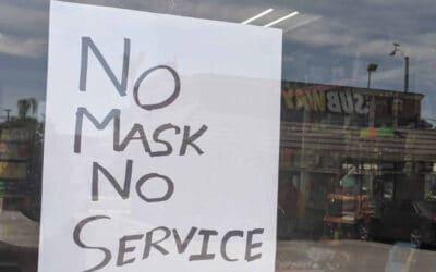 """Can Doctors enforce """"no mask, no service""""?"""
